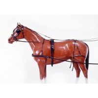 Tough-1 Leather Horse Harness