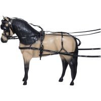 Miniature Bio-Tough Harness with Patent Leather