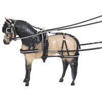Miniature Crystal Herculean Nylon Driving Harness