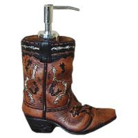 Cowboy Boot Soap Dispencer