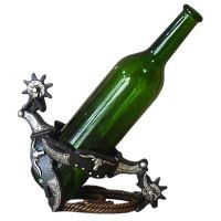 Spurs Wine Bottle Holder