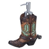 Cowboy Boot Soap Pump