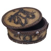 Mare and Foal Trinket Box