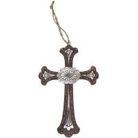 Cross Concho Ornament