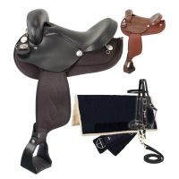 Eclipse by Tough 1 Endurance Saddle 5 Piece Package