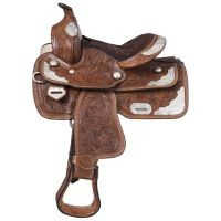 McCoy Trail Pony Saddle with Silver Accents Package