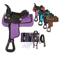 Eclipse by Tough 1 Miniature Trail Saddle 5 Piece Package