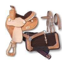 Miniature Mae 4 Piece Barrel Saddle Package