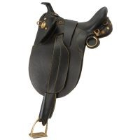 Australian Outrider Collection Stock Poley Saddle w/ Horn