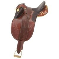 Australian Outrider Collection Stock Poley Saddle w/o Horn