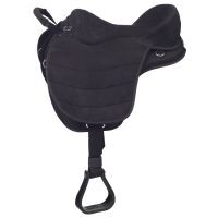 Eclipse by Tough 1® Treeless Endurance Saddle with Western Rigging