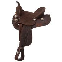 King Series Suede Seat Synthetic Trail Saddle