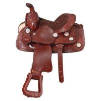 Mini West Trail Conchos Saddle Package