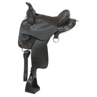 King Series Trekker Endurance Saddle with Horn