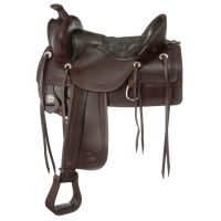 Old Time Trail Saddle Package with Round Skirt
