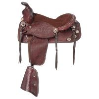 King Series Jr. Plainsman II Pony Saddle Package