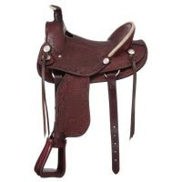 San Marcos Hard Seat Rancher Saddle Package