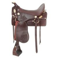 King Series Tooled McClellan Camp Saddle Package