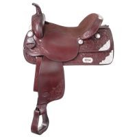 Royal King McKinney Trail Saddle w/ Silver
