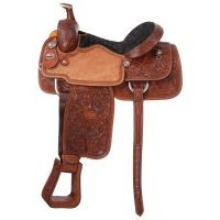 Premium Rising Star Calf Roper Saddle Package