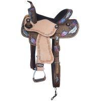 Delilah Collection Barrel Saddle