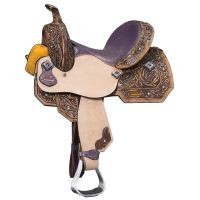 "Sweet Pea 13"" Barrel Saddle"