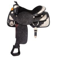 Premium Grandview Silver Show Saddle Package