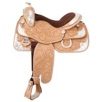 Premium Imperial Silver Show Saddle Package