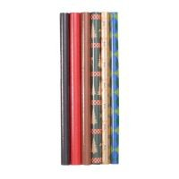 6 Pack Wrapping Paper Assortment