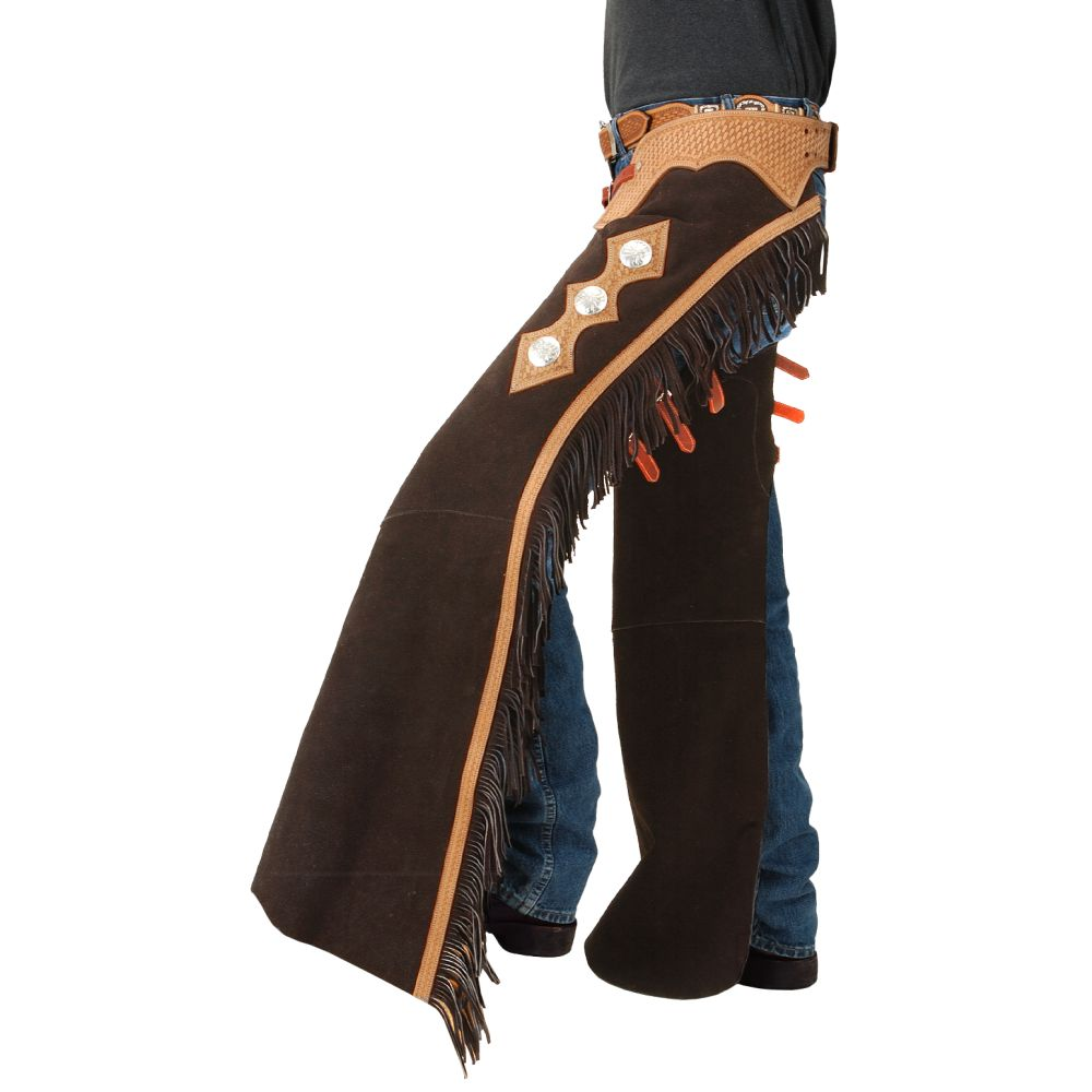 Horse Western Riding Tough 1 Suede Leather Cutting Show ...